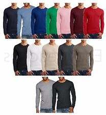 Next Level Thermal Premium Long Sleeve T-Shirt Basic Plain Tee FREE US SHIP 8201