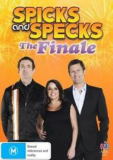 Spicks And Specks - The Finale, 2013 Comedy Adam Hills DVD NEW