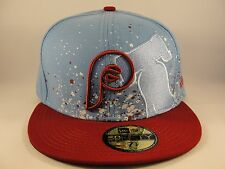 MLB Philadelphia Phillies New Era 59FIFTY Fitted Hat Cap Splatzinthat