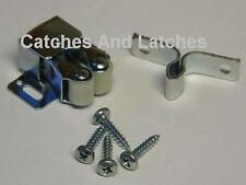 Twin Roller Spring Catches Galvanized or Bronze for Plinths Cupboards Caravans