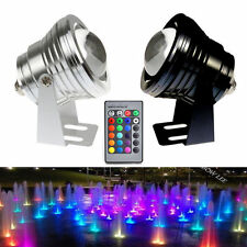 RGB 12V 5W/10W White Underwater LED Flood Wash Lamp Spot Light CAR Waterproof Co