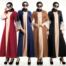 Dubai Style Clothes Muslim Abaya Kaftan Islamic Maxi Dress Women New Long Dress