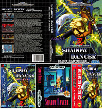 - Shadow Dancer Mega Drive Genesis PAL & NTSC Replacement Box Art Case Only