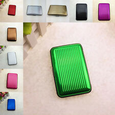 1 x Colorful Aluminium Wallet Bank Credit Business Card Case Purse Holder Safety