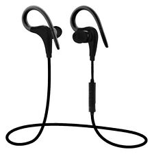Wireless Sport Headphones Mic Remote Control Stereo Bluetooth for Iphone Sony