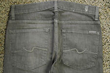 7 For All Mankind SLIMMY Taupe Brown Jeans 32X34-34X33 NWOT$195 Slim Leg
