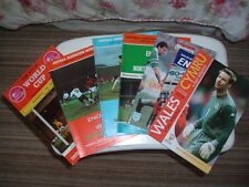 Various International Football Programmes