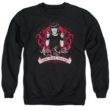 Ncis Goth Crime Fighter Mens Crewneck Sweatshirt Black