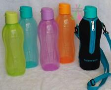 Tupperware 1 litre Round Eco H2O Sports Bottle Flip Lid- Choose your Color- New