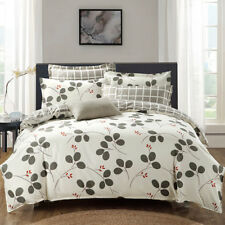 Floral Doona/Quilt/Duvet Cover Set Pillowcases King Queen Double Single Bed Size
