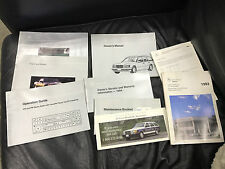 1994 E320 Mercedes-Benz Owner's Manual, books, and cover