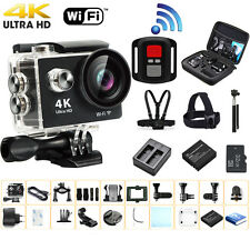 Ultra HD 4K Waterproof WiFi Action Camera Sports Cam DV Accessories For Gopro