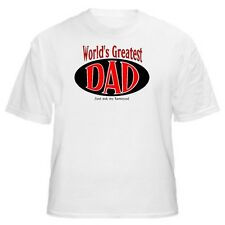 World's Greatest Dad - Samoyed T-Shirt - Sizes Small through 5XL