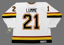 JYRKI LUMME Vancouver Canucks 1994 CCM Vintage Throwback Home NHL Hockey Jersey