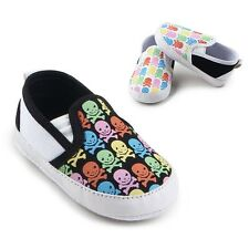 Infant Baby Boy Girl Casual Shoes Soft Sole Anti-Slip Kid Prewalker Shoes 0-12M