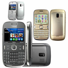 Original Nokia Asha 302 3020 Unlocked QWERTY WIFI 3G Bar Phone  GSM Smartphone