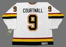 RUSS COURTNALL Vancouver Canucks 1995 CCM Vintage Home NHL Hockey Jersey