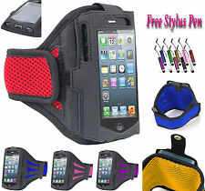 Sports Gym Running Jogging Armband Case Cover Stand Fits For Huawei Y635 UK