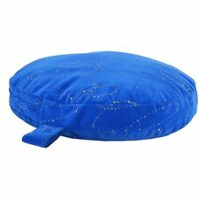 Dirty Dog Heavy Duty Blue Dog Bed Circular Pet Bed with Orthopedic Rebound Foam
