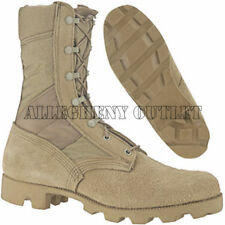 US Military Army COMBAT JUNGLE BOOTS Panama SPEEDLACE Hot Weather Desert Tan NEW