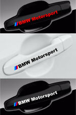 BMW Performance Decals For Wheels and Door Handle Vinyl Graphics Emblem - 8pcs