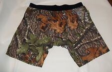 MOSSY OAK  PERFORMANCE COMPRESSION LONG LENGTH SHORTS BOXERS UNDERWEAR (camo)