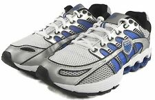K-SWISS 02499-090 SUPER TUBES RUN 50 Mn's(M) Silver/Blue Synthetic Running Shoes