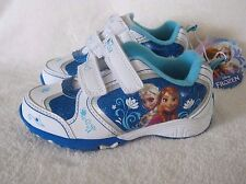 NEW DISNEY FROZEN ELSA & ANNA GIRLS TODDLERS ATHLETIC SHOES  5, 6, 7, 9