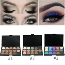 Pro 15 Colors Eye Shadow Makeup Shimmer Matte Pigments Eyeshadow Palette Set