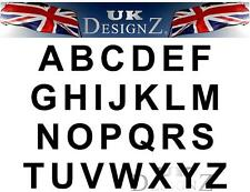 STICKY LETTERS | VINYL LETTERS | STICKY DIGITS X 10 with various choices