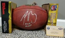 Aaron Rodgers Official Duke Authentic Autographed Football MVP GREEN BAY PACKERS