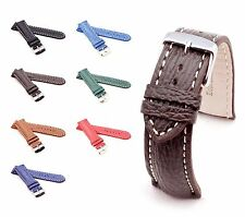 BOB Genuine Shark Watch Band for Breitling, 18-24 mm, 7 colors, new!