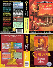 Centurion Sega Mega Drive PAL NTSC Replacement Box Art Case Insert Cover Repro.