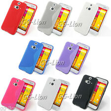 Gel TPU Skin Case Cover for HTC Butterfly 2, B810X