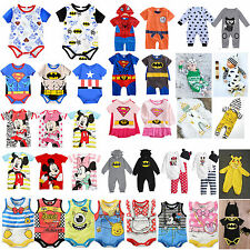 Summer Latest Newborn Infant Baby Boys / Girls Romper Jumpsuit One Piece Clothes