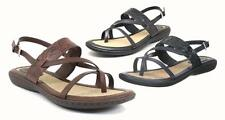 b.o.c. by BORN Pretty, Strappy Stylish Low Heeled Embossed Sandals in 3 Colors
