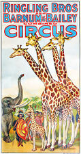 Ringling Brothers and Barnum & Bailey - 1940's - Circus Show Poster