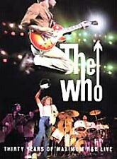 Rare NEW DVD Authentic Original The Who Thirty Years of Maximum R&B Live 2000 1