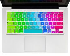 """Soft Silicone Rainbow Keyboard Cover for MacBook 11"""" 12"""" 13"""" MacBook Pro A1708"""