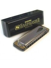 Suzuki Harpmaster  Harmonica in all keys, box included, Free Shipping in the US