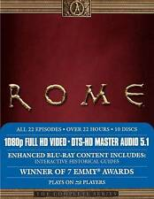 Rome: The Complete Series (Blu-ray Disc, 2009, 10-Disc Set)
