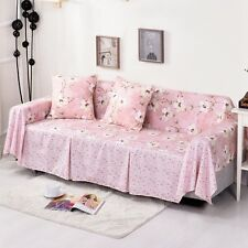 Floral Cotton Blend Slipcover Sofa Cover TauL Protector for 1 2 3 4 seater mshkf