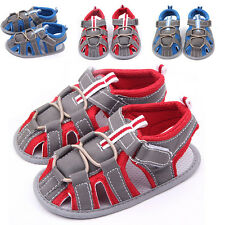 Toddler Baby Boys Sandals Summer Soft Sole Crib Shoes Prewalker Shoes Sneakers