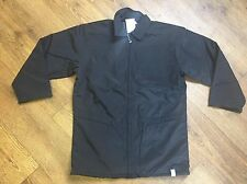 VAUXHALL OPEL COAT BLACK JACKET PADDED ZIP COAT *VARIOUS SIZES*