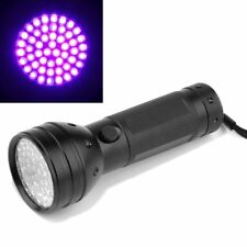 Portable UV Ultra Violet 51 LED Flashlight Blacklight Light 395 nM Lamp Torch