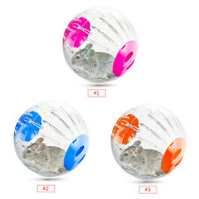 12cm Plastic Small Pet Hamster Gerbil Play Toy Running Activity Exercise Ball hg
