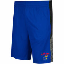 Kansas Jayhawks Colosseum Friction Shorts - Royal - NCAA