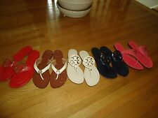 Tory Burch Leather Flip Flops 8- 9 New