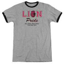Friday Night Lights Lions Pride Mens Adult Heather Ringer Shirt Heather/Black