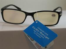 COMPUTER READING GLASSES ANTI REFLECTIVE TINTED LENS UV PROTECTION 2.50